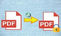 تشفير عدد اثنين من ملفات الـPDF وتحديد صلاحية لفتح الملف