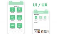 تصميم واجهة مستخدم مميزة لأيفون والأندرويد UX UI Design