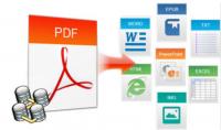 تحويل أي PDF إلى EXCEL   Word   CSV  و بالعكس