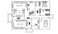 رسم مخططات بيتك باستخدام أوتوكاد