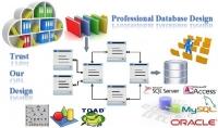 تصميم قاعدة بيانات كامله بالمخططات والجداول لأى نظام