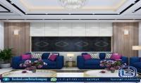 التصميم الداخلي والخارجي لكاف المنشآت السكنية او التجارية مع استلام كافة اللوحات التنفيذية