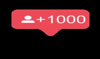 ساضيف لك 1000 متابع حقيقي 100% على صفحتك ب 5 دولار فقط
