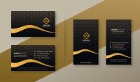 تصميم بطاقة أعمال  كرت شخصي   بشكل احترافي ومميز