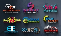 تصميم شعار عصري و احترافي لشركتك أو موقعك أو متجرك