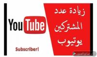 زيادة عدد المشتركين اليوتيوب الي1000 مشترك 30$