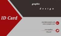 تصميم بطاقة عمل شخصية