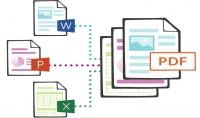 تعديل ملفات PDF وتحويلها الي WORD او EXCEL ودمجها او تقطيعها والعكس