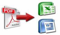 تحويل ملفات pdf الى ملفات word و excel