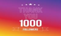 1000 متابع حقيقي على انستغرام