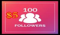 بتوفير 100 متابع على الانستقرام من جميع انحاء العالم مقابل 5$ فقط