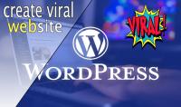انشاء موقع فيرال انجليزي احترافي كامل على منصة ووردبريس