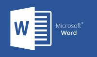 كتابة في برنامج word