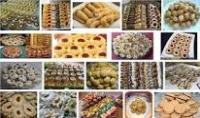 تعليم كيفية اعداد حلويات مغربية مثل الشباكية البريوات كعب الغزال