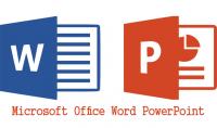 كتابة على word و power point