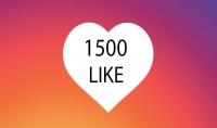 زيادة 1500 لايك لصورتك على الانستغرام