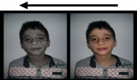 تحويل الوجه إلى وجه مشقق لإضافة طابع العمق إلى الصورة