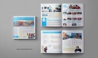 تصميم و تنيسق كتاب تقرير دراسة قصة على انديزاين Indesign بجودة عالية