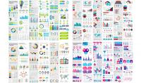 قوالب انفوجرافيك جاهزة للتعديل أكثر من 3500 تصميم في مختلف المجالات