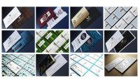 أقدم لك 215 قالب تصميم بيزنس كارد  بطاقة أعمال   كرت تعريف  إحترافي قابل للتعديل