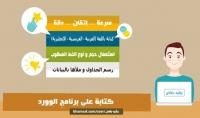 تفريغ أوراق وملفات pdf وصور الي ملفات word