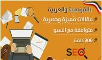 كتابة مقالات حصرية في التسويق الالكتروني