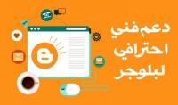 انشاء قالب لمدونة بشكل احترافى بالغة العربية و الانجليزية