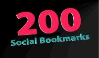 اضيف 200 رابط دوفلو 100% لموقعك في مواقع سوشيال بوكمارك