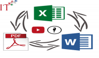 ادخال البيانات وتحويل الملفات  30 صفحة بجودة عالية