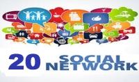نشر رابط موقعك  في أقوي 20 موقع تواصل إجتماعي