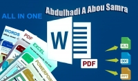 كتابة WORD وتحويل ملفات PDF | إحترافية وإتقان