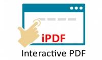 تصميم ملف pdf تفاعلي interactive PDF