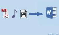تفريغ الصوتيات وملفات الPDF إلى ملف Word متميز.