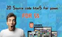20 لعبة HTML5 جاهزة مقابل 10$