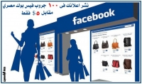 انشر اعلانك فى 100 جروب فيس بوك مصري مقابل 5 $