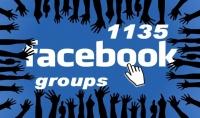 قائمة بها 1135 مجموعه فيس بوك أجنبية عالمية