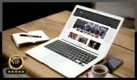 إنشاء وتطوير موقع إخبارى