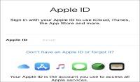 انشاء حسابات Apple