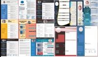 بيع مجموعة من تصاميم سيرة ذاتية قابلة للتعديل والتغيير عربي وانجليزي  بصيغة psd