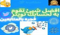 حملة اعلانية مدفوعة لاضافة متابعين تويتر