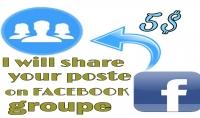 سوف أقوم بنشر رابطك أو منتجك على مجموعات فيسبوك أمريكية مقابل 5دولار