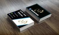 تصميم كارت شخصي business card وجهين جاهز للطباعه