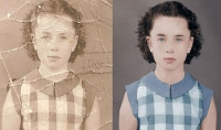 ترميم الصور القديمه وتلوينها