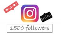 إضافة 1500 مشتركين متابعين متفاعليين حقيقين على انستغرام