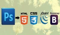 تكويد ملف psd إلى html بطريقة احترافية