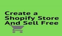 انشاء حساب في شوبيفاي والبيع مجانا .