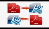 تحويل ملف من 50 صفحة من PDF الي WORD والخدمة ممتازة