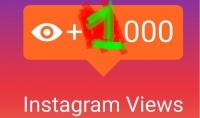 بيع 1000 مشاهدة لأي فيديو على الانستغرام