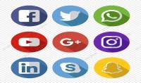 ادارة صفحات وعمل اعلانات مموله للجميع وسائل التواصل