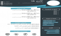 تصميم سيرتك الذاتية بالعربية او الانجليزية بطريقة احترافية
